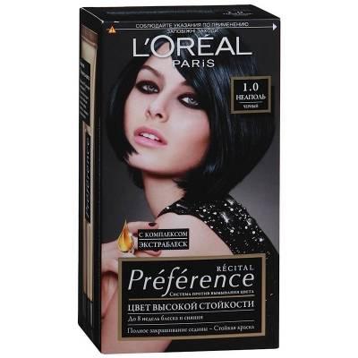 Краска для волос Preference 1.0 Неаполь Черный