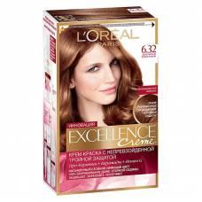 Краска для волос Excellence 6.32 Золотистый темно-русый