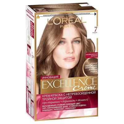 Краска для волос Excellence 7 Русый