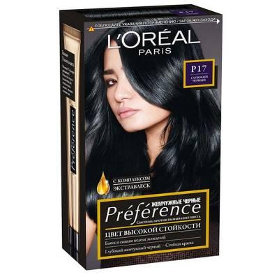 Краска для волос Preference P17 Глубокий черный