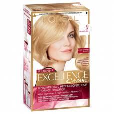 Краска для волос Excellence 9 Очень светло-русый