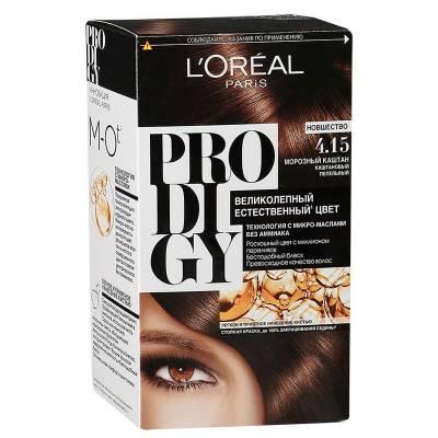 Краска для волос Prodigy 4.15 Морозный каштан