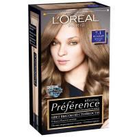 Краска для волос Preference 7.1 Исландия Пепельный русый