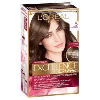 Краска для волос Excellence 5 Светло-каштановый