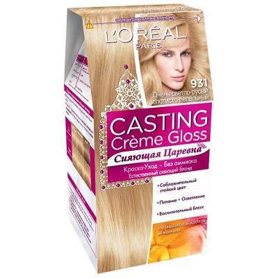 Краска для волос Casting Creme Gloss 931 Очень светло-русый золотисто-пепельный