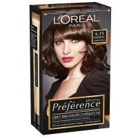 Краска для волос Preference 4.15 Каракас Тёмный каштан