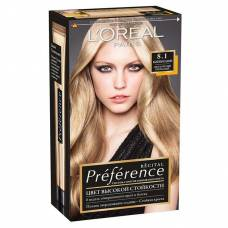 Краска для волос Preference 8.1 Копенгаген Светло-русый пепельный