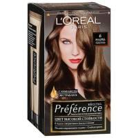 Краска для волос Preference 6 Мадрид Тёмно-русый