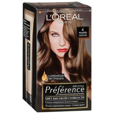 Краска для волос Preference 6 Мадрид Темно-русый