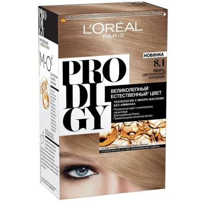 Краска для волос Prodigy 8.1 Кварц