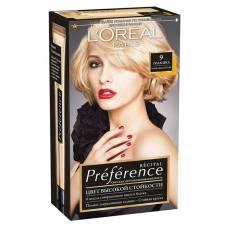 Краска для волос Preference 9 Голливуд Очень светло русый