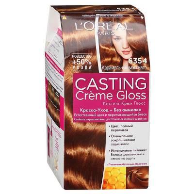Краска для волос Casting Creme Gloss 6354 Карамельный маккиато