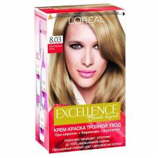 Краска для волос Excellence 8.03 Пленительный блонд