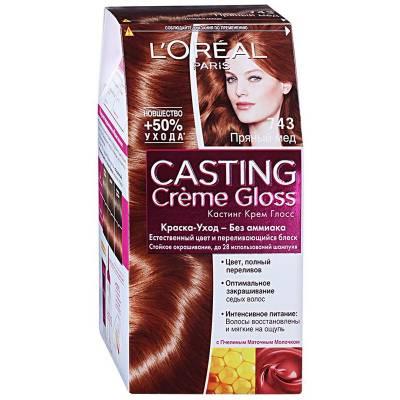 Краска для волос Casting Creme Gloss 743 Пряный мед