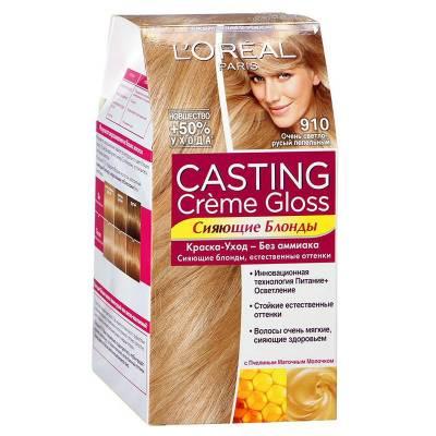 Краска для волос Casting Creme Gloss 1010 Очень светло русый пепельный