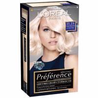 Краска для волос Preference 11.21 Ультраблонд холодный перламутровый