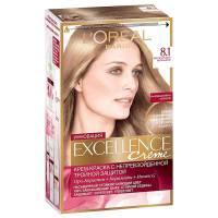 Краска для волос Excellence 8.1 Светло-русый пепельный