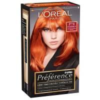 Краска для волос Preference Feria P78 Паприка Очень интенсивный медный