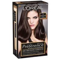 Краска для волос Preference 3 Бразилия Тёмно-каштановый