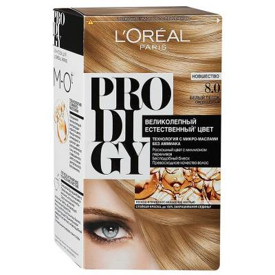 Краска для волос Prodigy 8.0 Белый песок