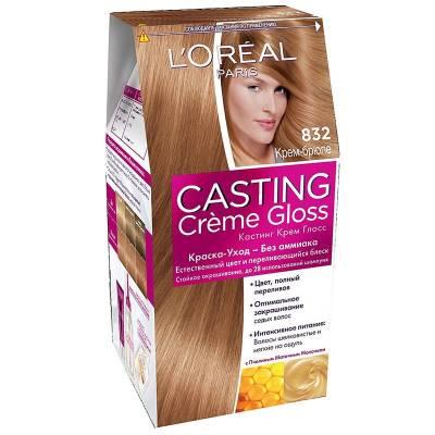 Краска для волос Casting Creme Gloss 832 Крем-брюле