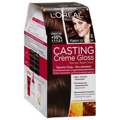 Краска для волос Casting Creme Gloss 412 Какао со льдом