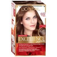Краска для волос Excellence 6.02 Легендарный каштан