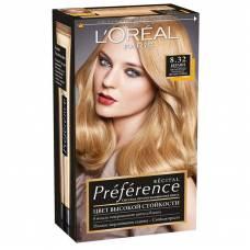 Краска для волос Preference 8.32 Берлин Светло-русый золотисто-перламутровый