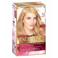 Краска для волос Excellence 9.3 Очень светло-русый золотистый