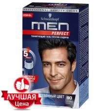 Тонирующий гель Men Perfect - 90 Натуральный черный