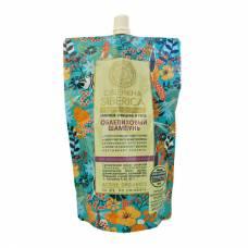Облепиховый шампунь для нормальных и жирных волос, пакет дой-пак, 500 мл