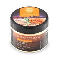 Маска для волос Natura Kamchatka «Шелковое золото», 300 мл