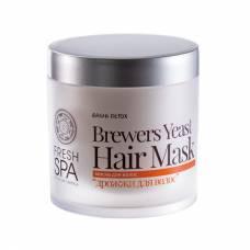 Маска для волос «Дрожжи для волос» Bania Detox, 400 мл