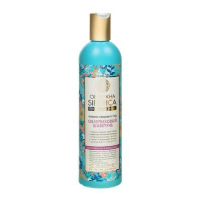 Облепиховый шампунь для нормальных и жирных волос, 400 мл