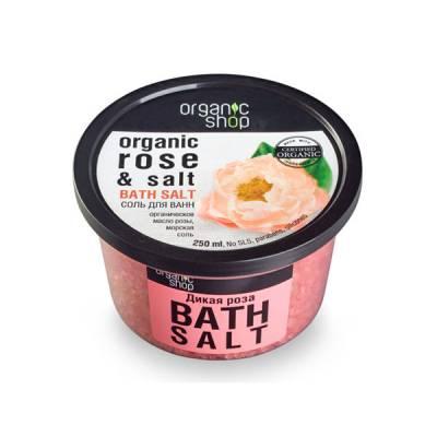 Соль для ванн «Дикая роза», 250 мл