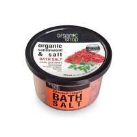 Соль для ванн «Красный сандал», 250 мл