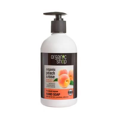 Мыло жидкое питательное «Розовый персик», 500 мл