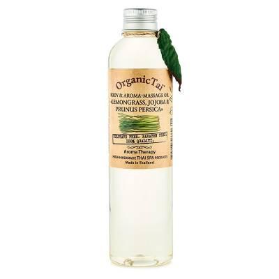 Масло для тела и аромамассажа Лемонграсс, жожоба и персик