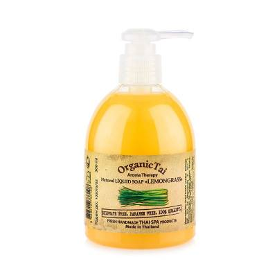 Натуральное жидкое мыло Лемонграсс