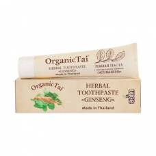 Зубная паста с натуральными травами Женьшень