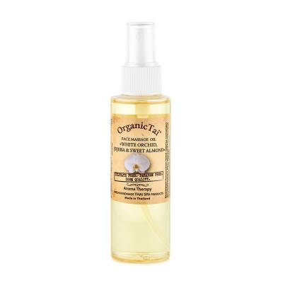 Массажное масло для лица Белая орхидея, жожоба и сладкий миндаль
