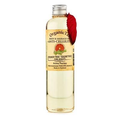 Масло для тела и аромамассажа антицеллюлитное