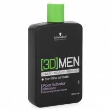 [3D] Men Шампунь активатор роста волос – очищение, 250 мл