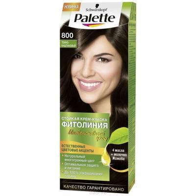 Palette Фитолиния Краска для волос 800 Темно-каштановый