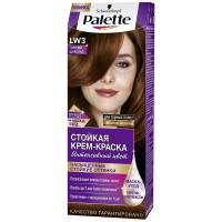 Стойкая крем-краска для волос + маска-уход LW3 Горячий шоколад