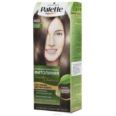 Palette Фитолиния Краска для волос 400 Средне-русый