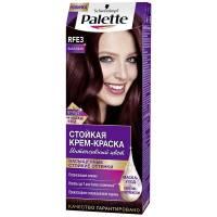 Стойкая крем-краска для волос + маска-уход RFE3 Баклажан