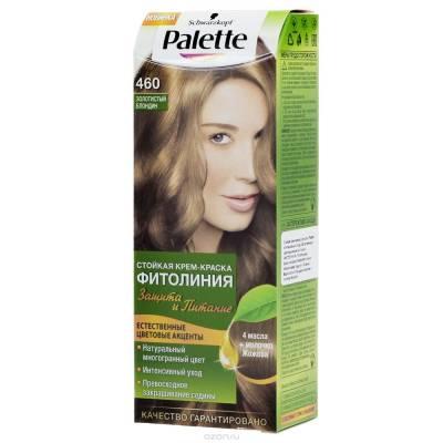 Palette Фитолиния Краска для волос 460 Золотистый блондин