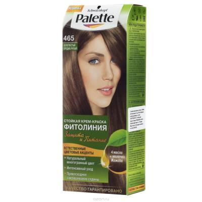 Palette Фитолиния Краска для волос 465 Золотистый средне-русый