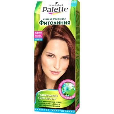 Palette Фитолиния Краска для волос 650 Ореховый каштановый